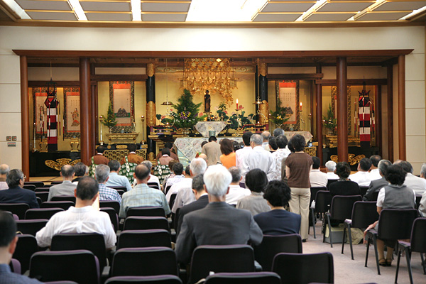 おぼん法要(盂蘭盆会)
